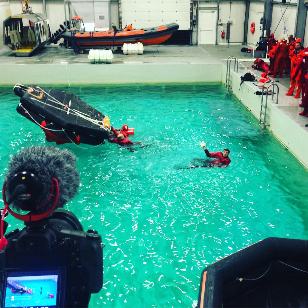 Safety offshore training